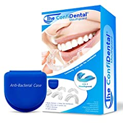 Our mouthguard is perfect for teeth grinding, an athletic dental guard and teeth whitening tray. Whether you are kid, youth or adult if you clench or grind your teeth and want to protect them, our bite guards are right for you. Whether you are into n...