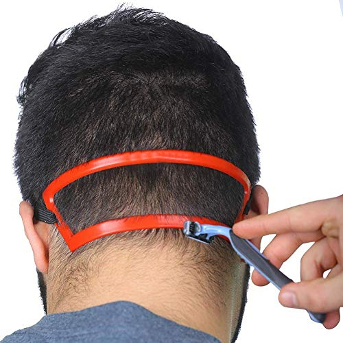Salon Barber Neck Haarschneide Mold Line-Führer Ausschnitt Haircuts Vorlage Haar-Werkzeug-Haar-Schablone Ausschnitt Hairline