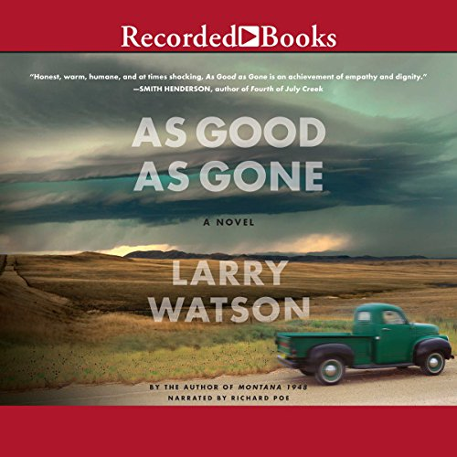 As Good as Gone Audiobook By Larry Watson cover art