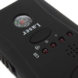 Hemore - Detector de señal de teléfono móvil de Gama Completa ABS Negro CC308 US Plug