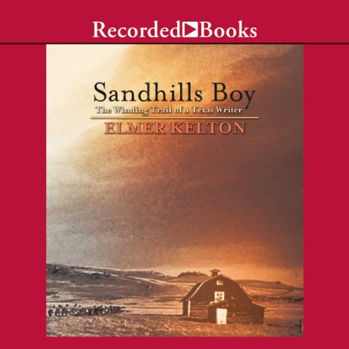 Sandhills Boy audiobook cover art