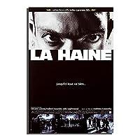 La haine(1995)ヴィンテージ映画ポスター壁アートポスターキャンバス絵画ポスターと版画装飾壁アート写真リビングルーム50x75cmフレームなし
