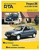 E.T.A.I - Revue Technique Automobile 112.1 - PEUGEOT 205 - 1983 à 1998