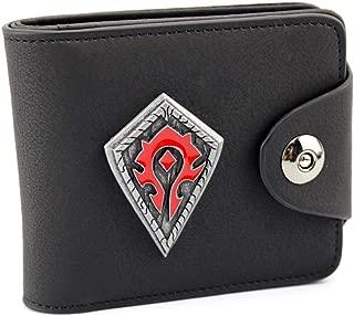 Wildforlife World of Warcraft Leathercraft Wallet