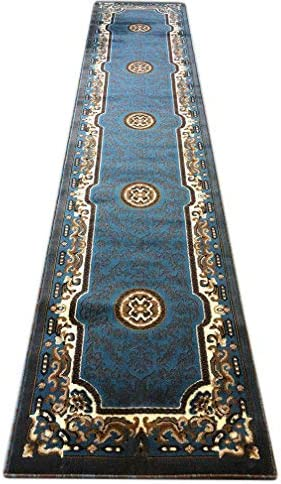 Traditional Long Runner Area Rug Desi Popular shop is the lowest price challenge Blue Brown Kingdom Persian Free shipping on posting reviews