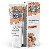 Dulàc, Crema de caléndula concentrada al 35%, 75 ml, Nutre, hidrata y protege la piel, Para el cambio de pañal, 100% Made in Italy, Calendula 35