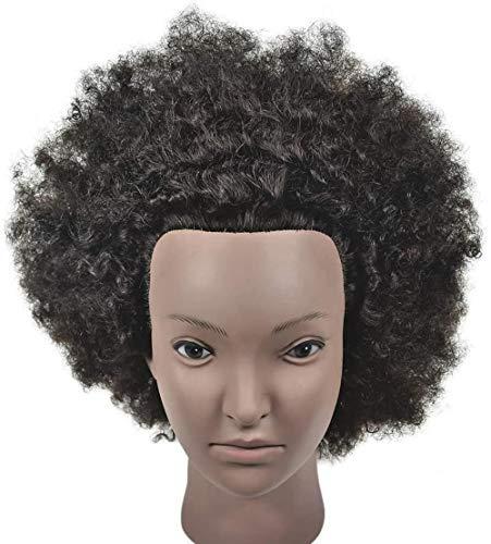 Mannequins de couture reglable Formation Chef des salons de coiffure des cheveux exercice Head parage Mold Maquillage Modélisation d'apprentissage Dummy Explosion Head Mannequin porte vêtement mannequ