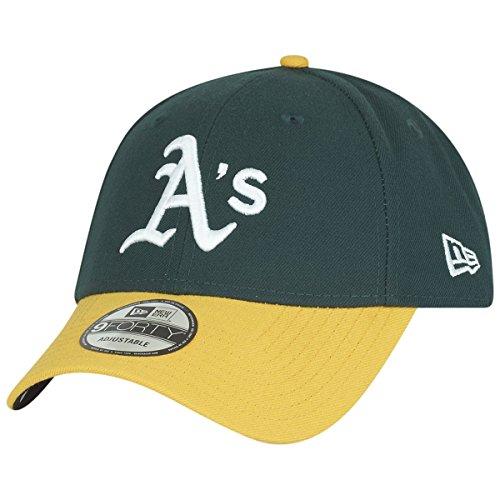 New Era 9Forty Cap - MLB League Oakland Athletics grün