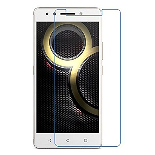 Amzer HD Kristal Clear Tempered GLASS Screen Protector Shield Screen Protector for Lenovo K8 Note - HD clear GLASS Screen Guard
