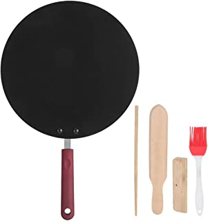 Stekpanna Bärbar Crepe Maker Non-Stick Stekpanna Pannkaka Griddle Pan Mini Cooking Tool
