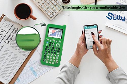 Silicone Case for Ti 84 Plus CE Calculator (Green) - Cover for Texas Instruments Ti-84 Graphing Calculator - Silicon Skin for Ti84 Plus - Protective & Anti-Scretch Cases - Ti 84 Accessories by Sully Photo #8