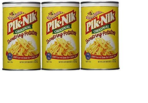 Pik-Nik Original Shoestring Potatoes, 1.75 oz (Pack of 3)