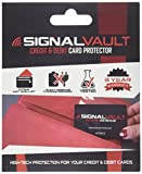SignalVault SV-2Pack RFID Blocking Signal Vault Credit & Debit Card Protector (2 Cards)