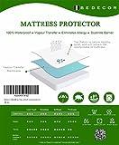 Bedecor Matratzenschoner Wasserdicht Wasserundurchlässige Matratzenauflage Baumwolle 120x200 cm - 7