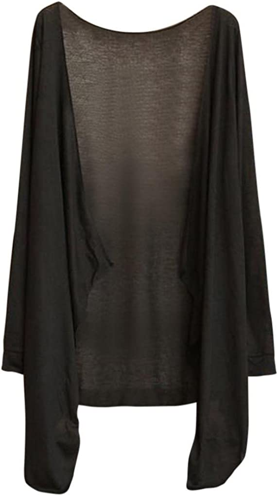 CUCUHAM Summer Women Long Thin Cardigan Modal Sun Protection Clothing Tops