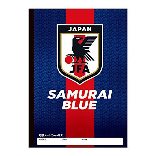 サッカー日本代表<JFA> B5方眼ノート レッドライン柄 48868