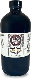 Cook's, Pure Vanilla Bean Paste (Puree), World's Finest Gourmet Fresh Grade A Premium Vanilla, 16 oz