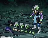 Geyang Demoniacal Fit SHF God of Creation Zamasu True Believer Goku Action Figure in PVC Figure Brinquedos Toy Model