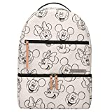 Petunia Pickle Bottom Axis Backpack   Baby Bag   Diaper Bag Backpack   Baby Bottle Bag   Sophisticated & Spacious Backpack for On the Go Moms   Sketchbook Mickey & Minnie Disney Collaboration