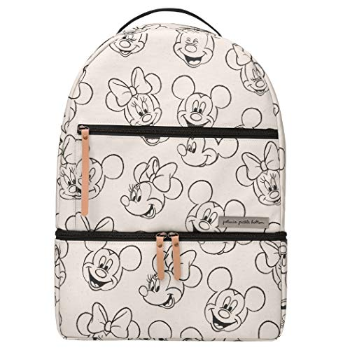 Petunia Pickle Bottom Axis Backpack | Baby Bag | Diaper Bag Backpack | Baby Bottle Bag | Sophisticated & Spacious Backpack for On the Go Moms | Sketchbook Mickey & Minnie Disney Collaboration
