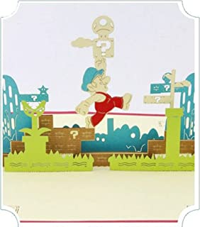 BC Worldwide Ltd Handmade 3D pop-up biglietto di auguri compleanno Natale capodanno San Valentino festa del papà festa del...