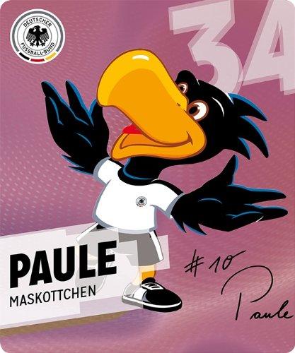 REWE DFB WM 2014 Paule Maskottchen Nr. 34/34 Sammelkarte Sticker