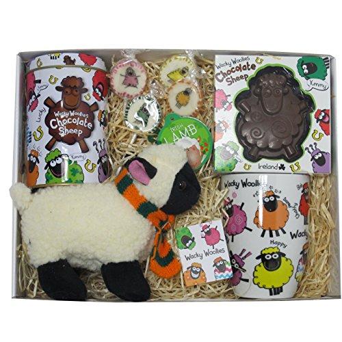 Irisches Wacky Woollies Schäfchen Paket - zum Geniessen & Liebhaben