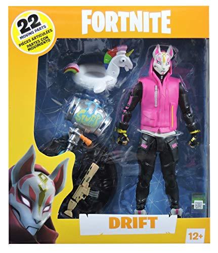 HEO GMBH- Fortnite Figura articulada Drift, Multicolor (MC Farlane MCF10607-7) 3