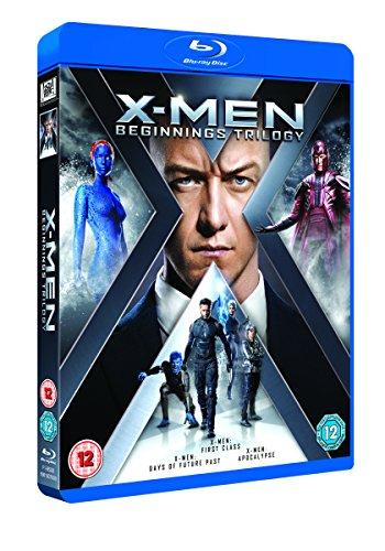 X-Men: Beginnings Trilogy [Blu-ray] [Region Free]