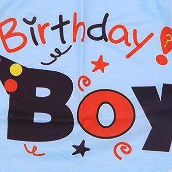 Bandana d'anniversaire pour Chiot - Foulard Triangulaire Lavable - pour Chiot de Petite, Moyenne et Grande Taille
