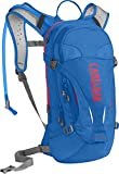 CamelBak Mujer L.U.X.E. Hydration Pack–Mochila de hidratación, Multicolor (Carve Blue/Fiery Coral), 100 oz