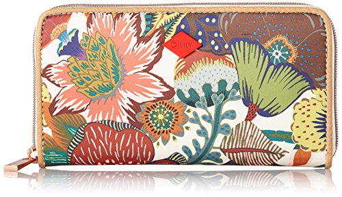 Oilily Damen Travel Wallet Geldbörsen, Weiß (Winter White 016), 20x11x3 cm
