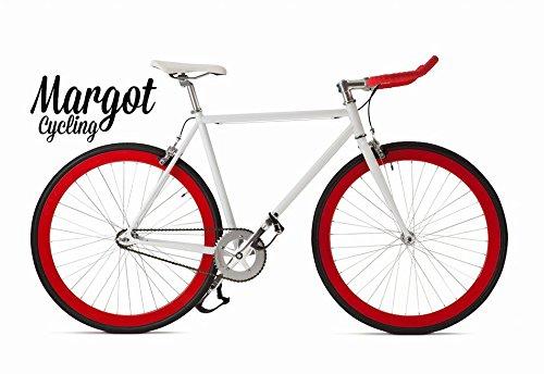 Margot Bullhorn 58 - Bici Scatto Fisso, Fixed Bike, Bici Single Speed, Bici Fixie