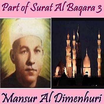 Part of Surat Al Baqara 3 (Quran)