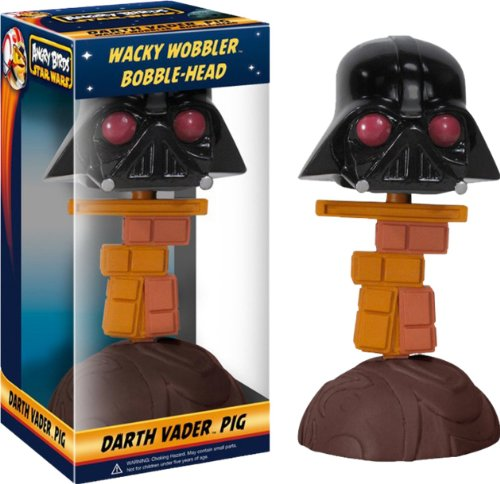 Angry Birds: Star Wars Wacky Wobbler Darth Vader Piggy Bobble Head