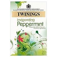 1パックトワイニング純粋なペパーミントティー20 - Twinings Pure Peppermint Tea 20 per pack [並行輸入品]