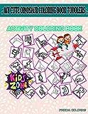 My Cute Dinosaur Coloring Book Toddlers: 45 Coloring Eggs, Volcano, Archelon, Egg, Shellfish, Stegosaurus, Saltopus, Quetzalcoatlus For Preschool Image Quiz Words Activity And Coloring Book