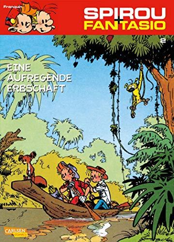 Spirou und Fantasio 2: Eine aufregende Erbschaft: Spannende Abenteuer für Mädchen und Jungen ab 8