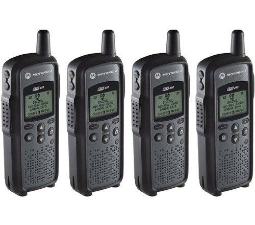 Motorola DTR-410 Digital On-Site Two-Way Radio (4 Pack)