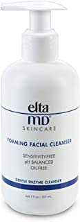 EltaMD Foaming Facial Cleanser, Gentle, Oil-free, Sensitivity-free, Dermatologist-Recommended Enzyme & Amino Acid Face Wash & Makeup Remover