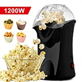 Best Air Popcorn Poppers - 1200W Popper Popcorn Maker, Hot Air Popcorn Popper Review