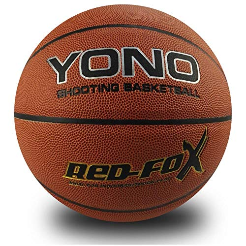Read About Outdoor sports fashion home Professional Basketball No.7 Pu Basketball No.7, Red, No. 7 B...