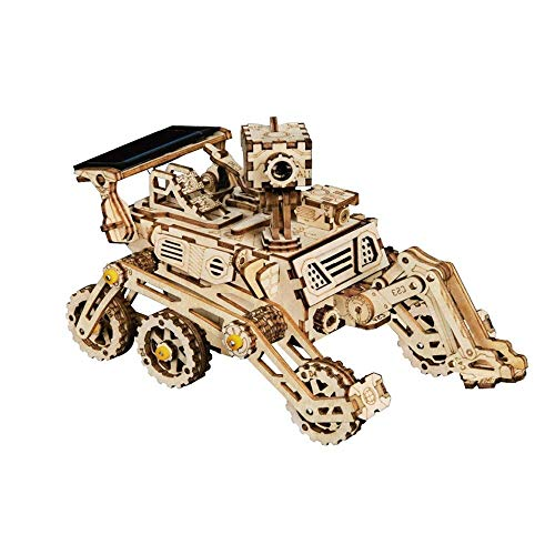 WCY Modell 3-D Holzpuzzle Mechanische Modelle mechanische Getriebe mechanische Getriebe Constructor Bausätze Denkaufgabe Constructor Bausätze 3-D-Puzzles (Farbe: Natur, Größe: 175x100x85 (mm)) yqaae