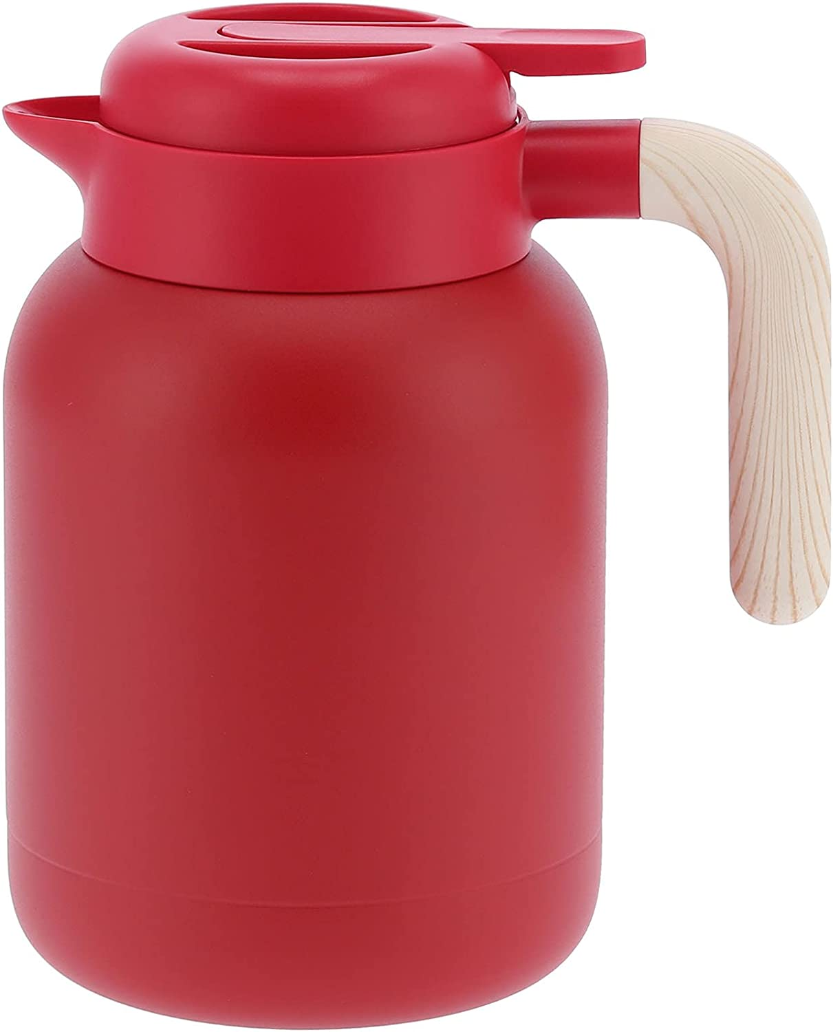 Kettle Insulation Vacuum Stainless San Diego Mall Max 51% OFF Steel Pot Coffee 1.5L 50.7Oz