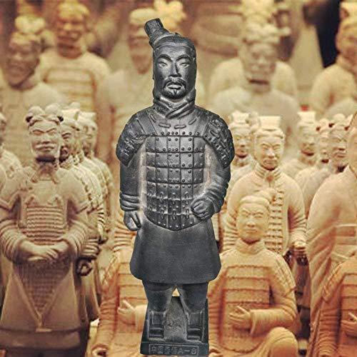 DTTXBMY Antike Qin Dynastie Terrakotta Krieger Und Pferde Skulptur Home Display Tisch Display Geschenk Terrakotta Warriors Show 8.8