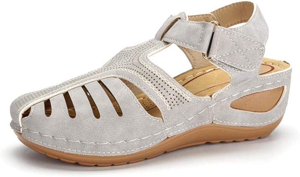 sale Women's Comfy Wedge Sandals Summer Platform Comfort Flat cheap