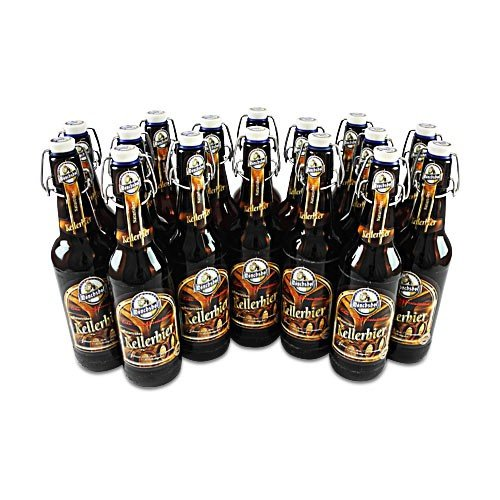Mönchshof Kellerbier (16 Flaschen à 0,5 l / 5,4% vol.)