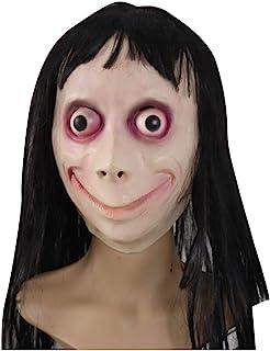 ホラーマスク Momo面具乳胶万圣节鸟人头套 コスプレ怖い仮装 祝日 ハロウィン CaiCM