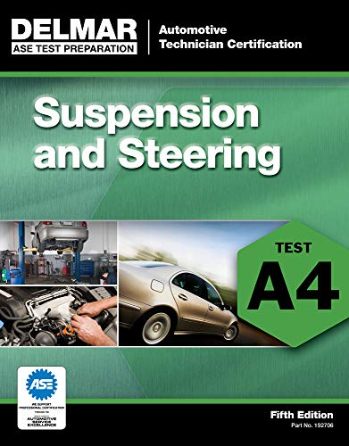Suspension and Steering (A4) (Automobile Certification Series)