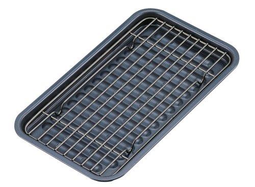 パール金属 ブルーブラックコート オーブントースター用プレートアミセット H-5451